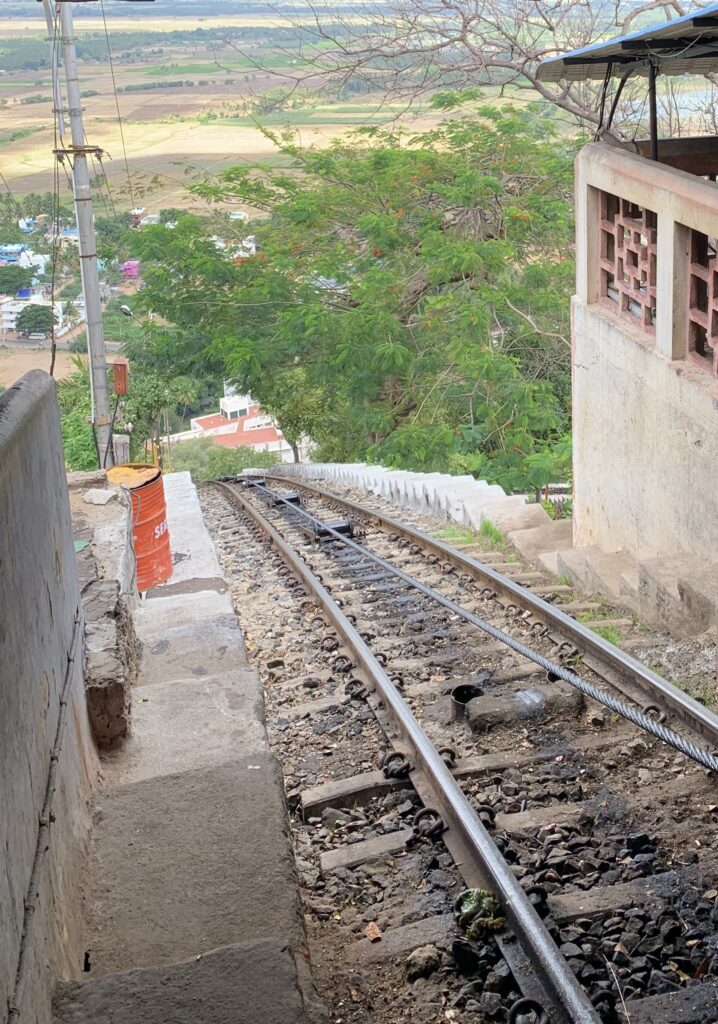 Photo of tram down from Palani