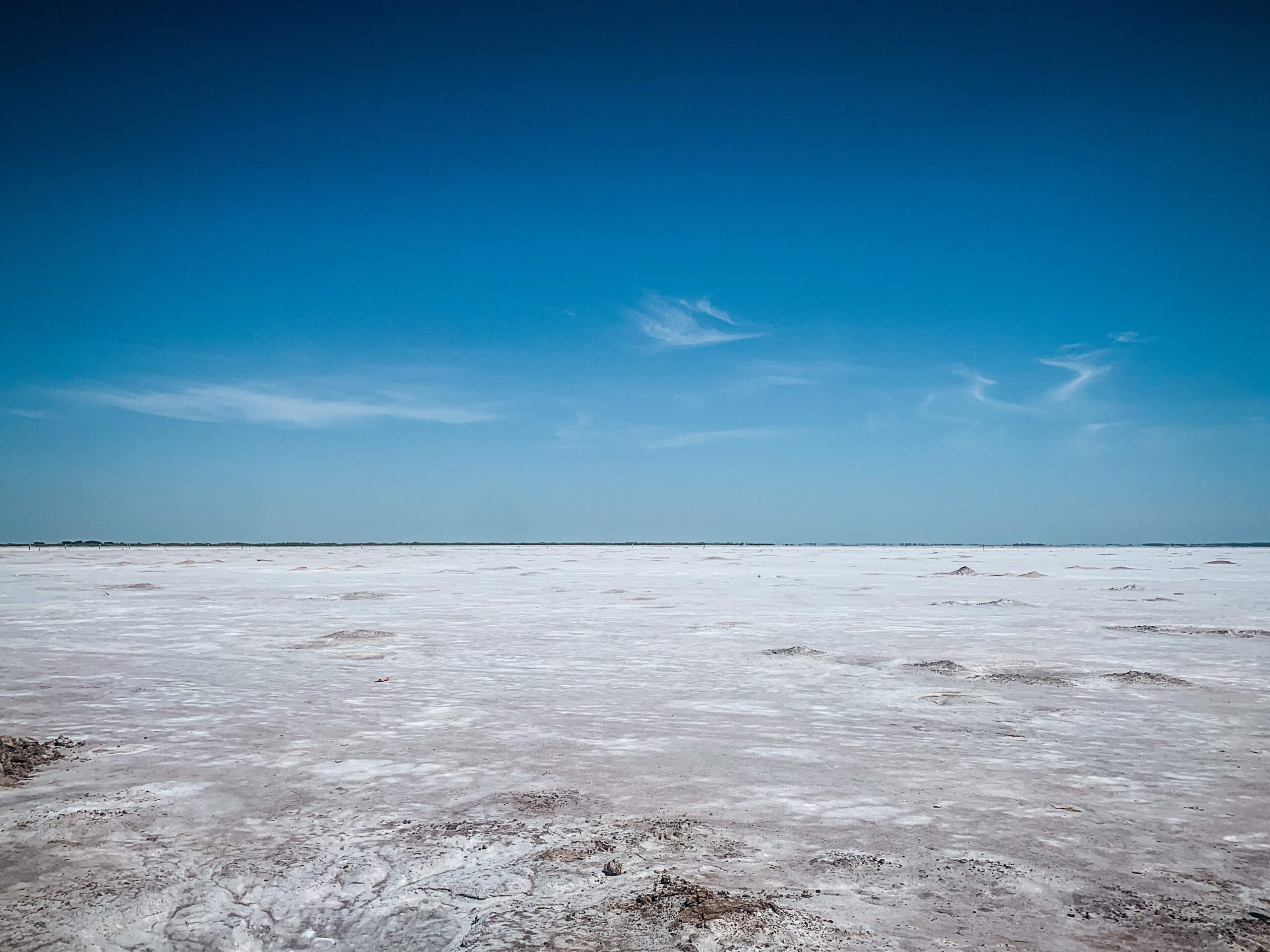 viewing the salt plains